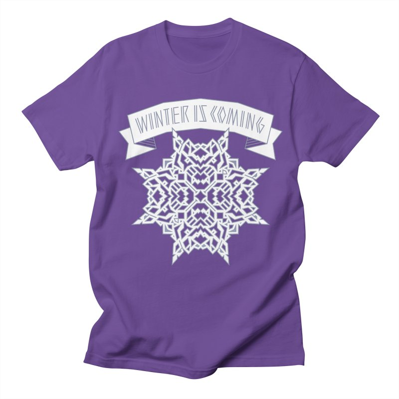 Winter Is Coming Women's Unisex T-Shirt by Spencer Fruhling's Artist Shop