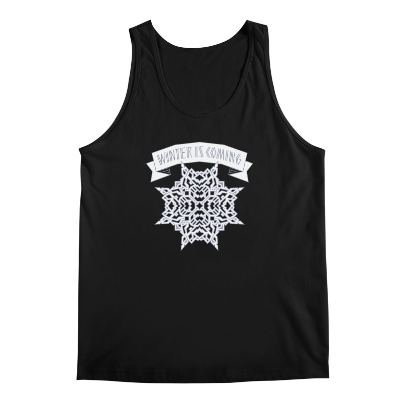 Winter Is Coming Men's Tank by Spencer Fruhling's Artist Shop