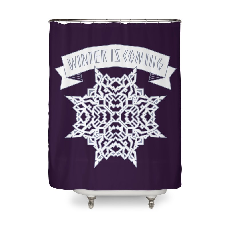 Winter Is Coming Home Shower Curtain by Spencer Fruhling's Artist Shop