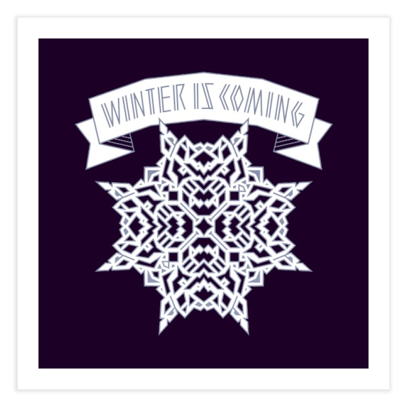 Winter Is Coming Home Fine Art Print by Spencer Fruhling's Artist Shop