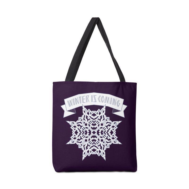 Winter Is Coming Accessories Bag by Spencer Fruhling's Artist Shop