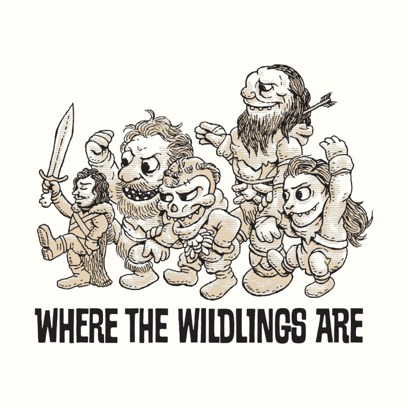 Where The Wildlings Are by Spencer Fruhling's Artist Shop