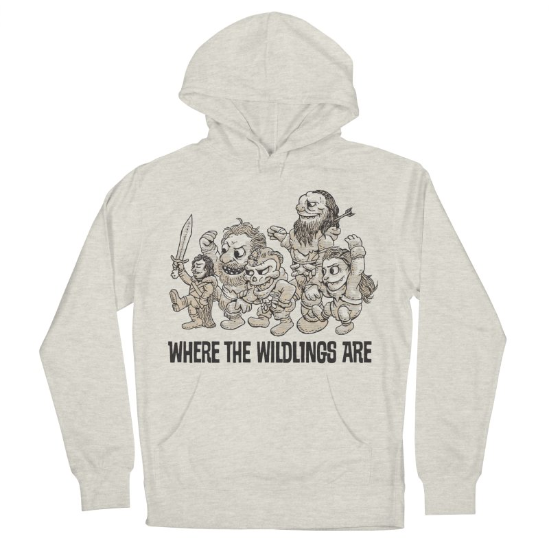 Where The Wildlings Are Men's Pullover Hoody by Spencer Fruhling's Artist Shop