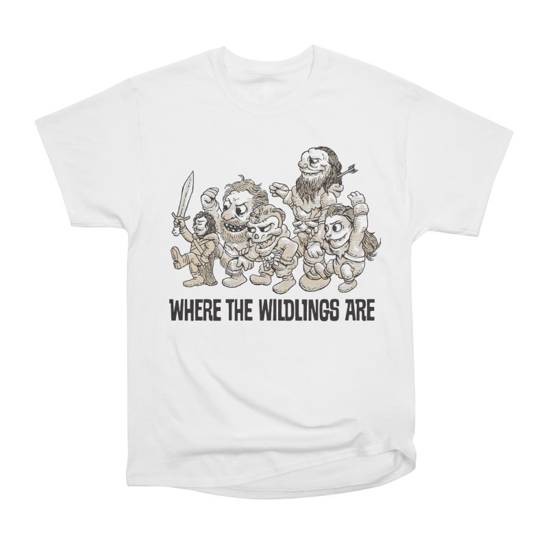 Where The Wildlings Are Men's Classic T-Shirt by Spencer Fruhling's Artist Shop