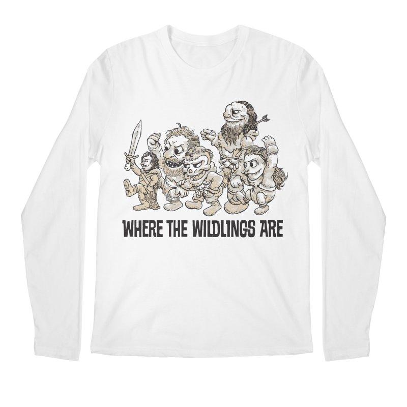 Where The Wildlings Are Men's Longsleeve T-Shirt by Spencer Fruhling's Artist Shop