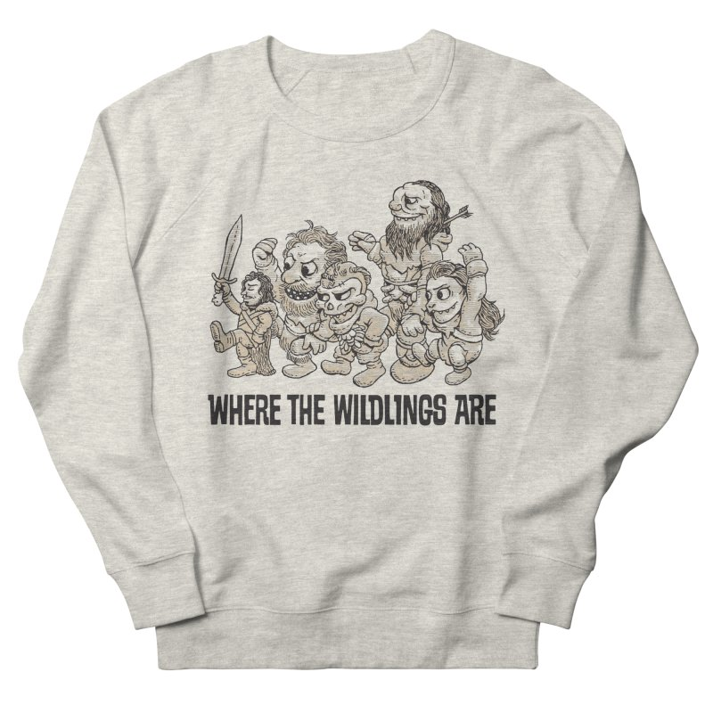 Where The Wildlings Are Women's Sweatshirt by Spencer Fruhling's Artist Shop