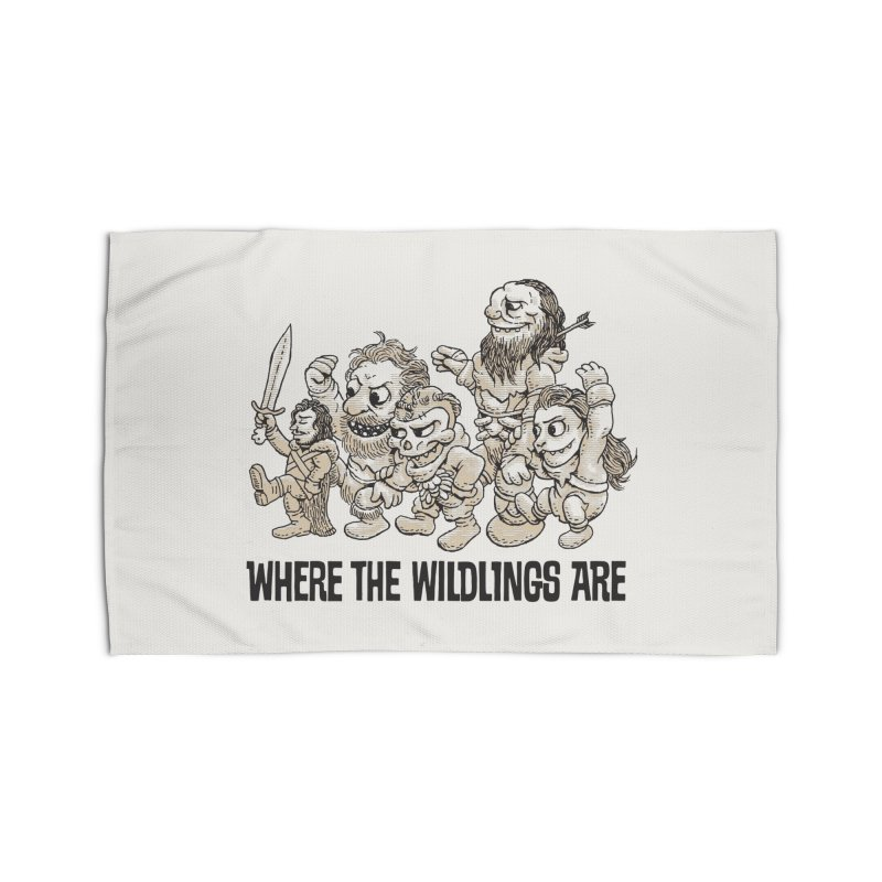 Where The Wildlings Are Home Rug by Spencer Fruhling's Artist Shop