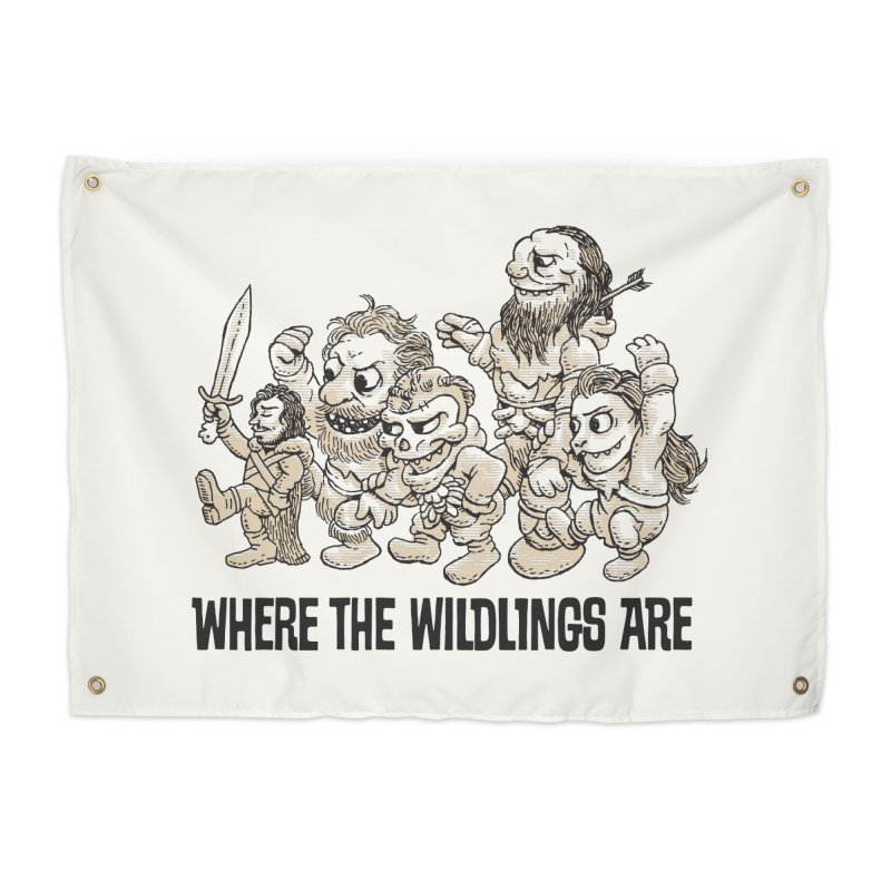 Where The Wildlings Are Home Tapestry by Spencer Fruhling's Artist Shop