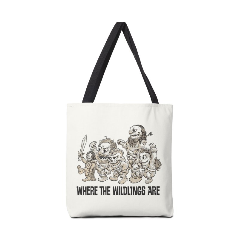 Where The Wildlings Are Accessories Bag by Spencer Fruhling's Artist Shop