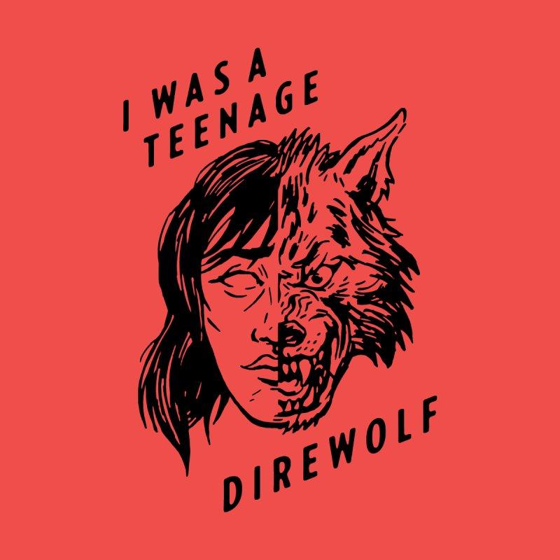 I Was A Teenage Direwolf by Spencer Fruhling's Artist Shop