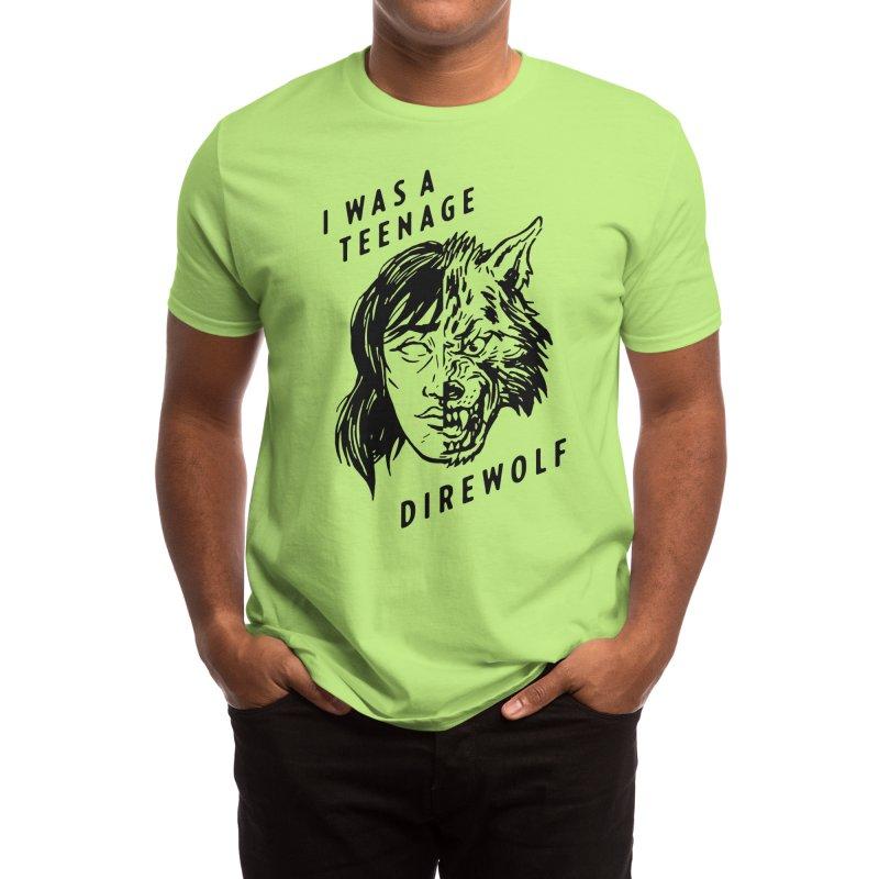 I Was A Teenage Direwolf Men's T-Shirt by Spencer Fruhling's Artist Shop