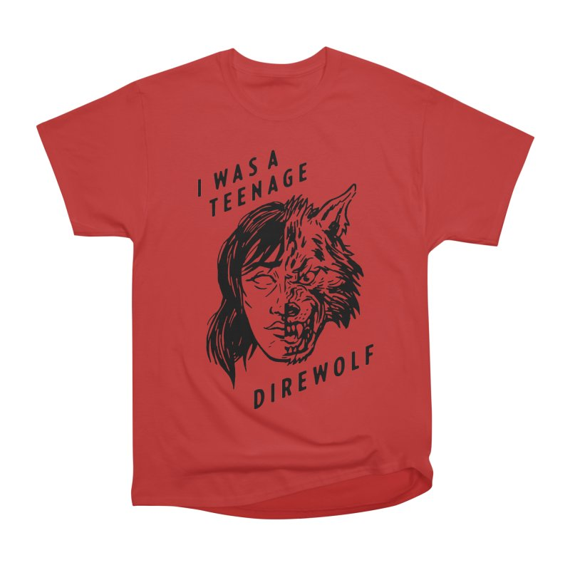 I Was A Teenage Direwolf Women's Classic Unisex T-Shirt by Spencer Fruhling's Artist Shop