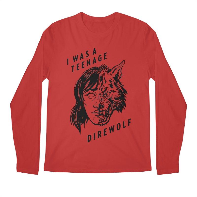 I Was A Teenage Direwolf Men's Longsleeve T-Shirt by Spencer Fruhling's Artist Shop