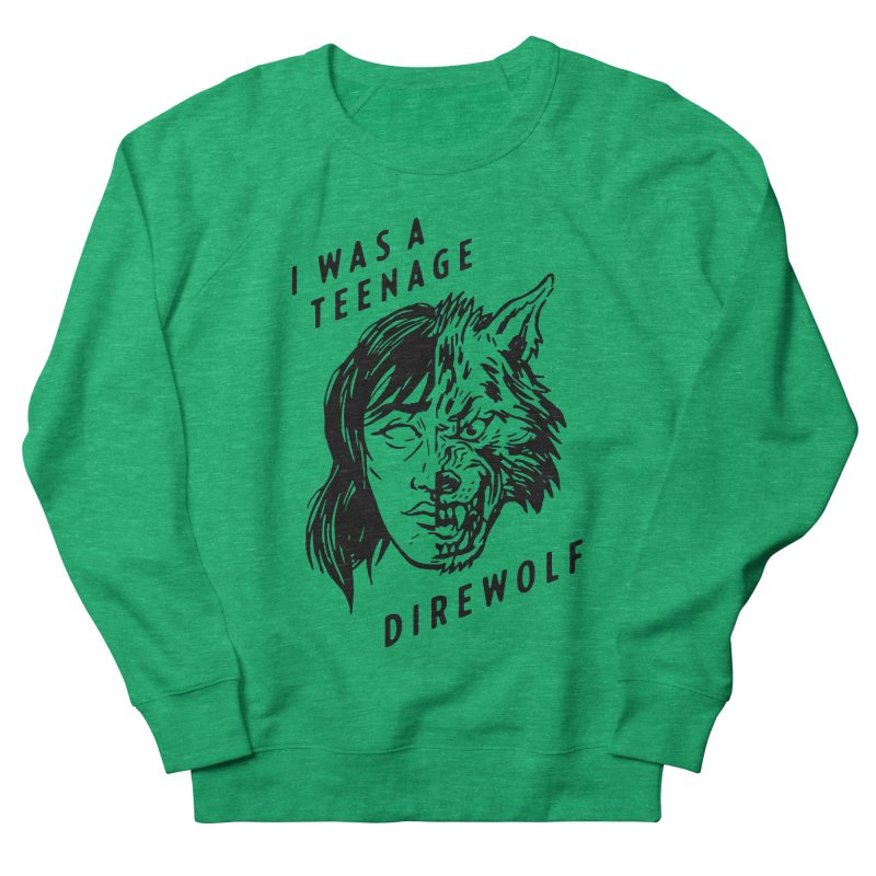I Was A Teenage Direwolf Women's Sweatshirt by Spencer Fruhling's Artist Shop