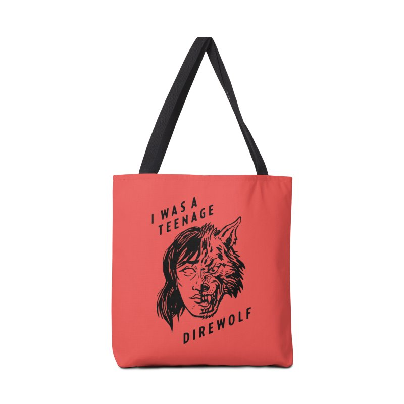 I Was A Teenage Direwolf Accessories Bag by Spencer Fruhling's Artist Shop
