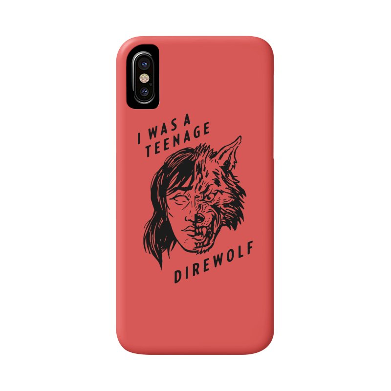 I Was A Teenage Direwolf Accessories Phone Case by Spencer Fruhling's Artist Shop