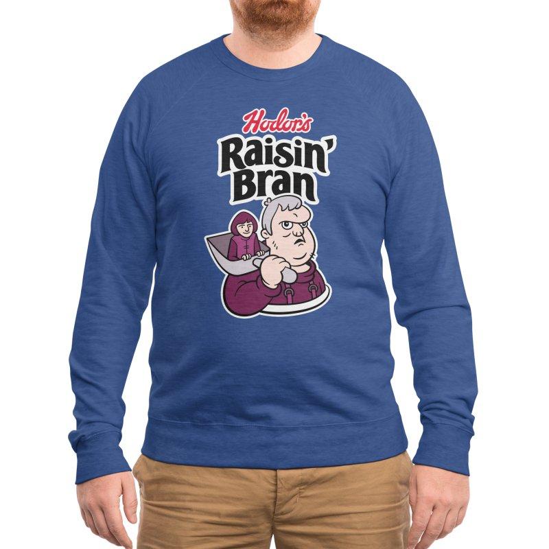Hodor's Raisin' Bran Men's Sweatshirt by Spencer Fruhling's Artist Shop
