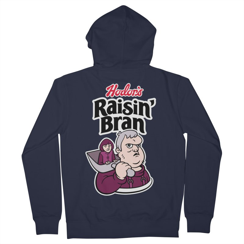 Hodor's Raisin' Bran Women's Zip-Up Hoody by Spencer Fruhling's Artist Shop