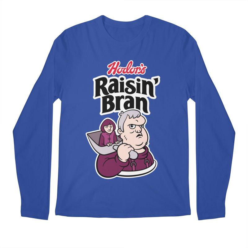 Hodor's Raisin' Bran Men's Longsleeve T-Shirt by Spencer Fruhling's Artist Shop