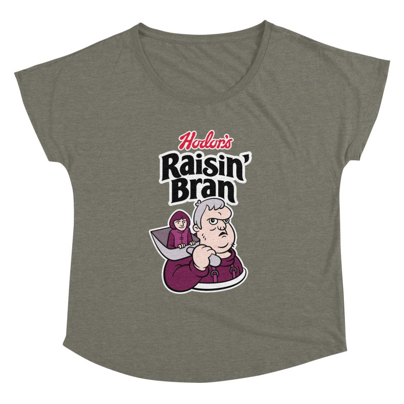 Hodor's Raisin' Bran Women's Dolman by Spencer Fruhling's Artist Shop