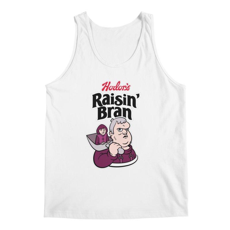 Hodor's Raisin' Bran Men's Tank by Spencer Fruhling's Artist Shop