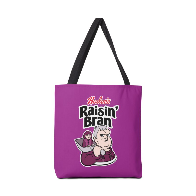 Hodor's Raisin' Bran Accessories Bag by Spencer Fruhling's Artist Shop