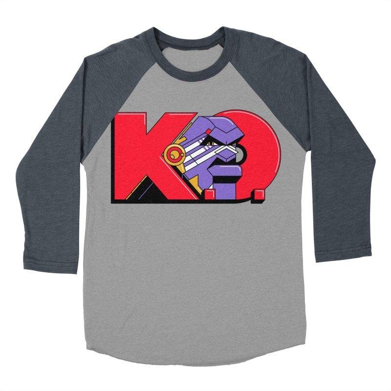 K.O. Women's Baseball Triblend T-Shirt by Spencer Fruhling's Artist Shop