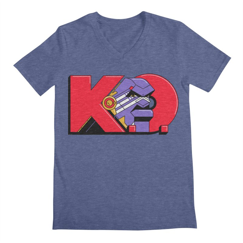 K.O. Men's V-Neck by Spencer Fruhling's Artist Shop