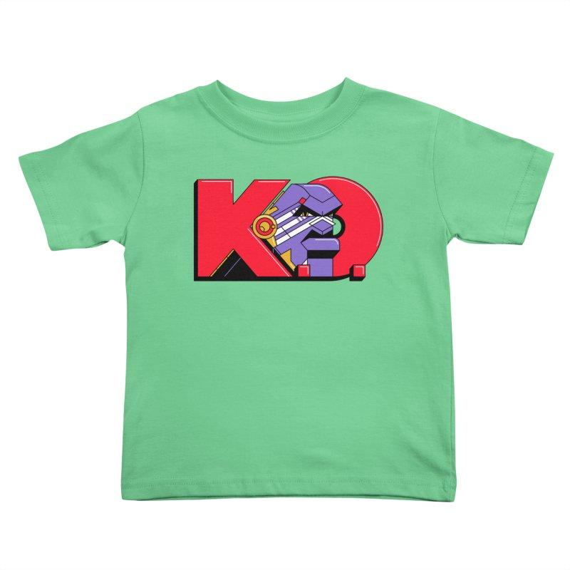 K.O. Kids Toddler T-Shirt by Spencer Fruhling's Artist Shop