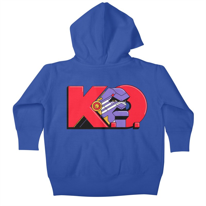 K.O. Kids Baby Zip-Up Hoody by Spencer Fruhling's Artist Shop