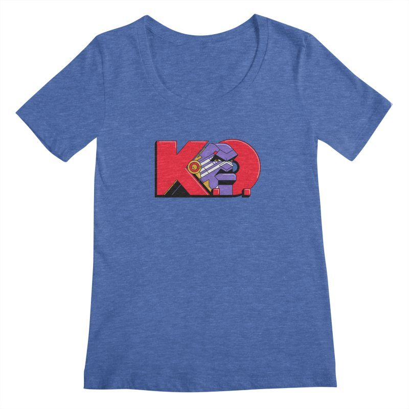 K.O. Women's Scoopneck by Spencer Fruhling's Artist Shop