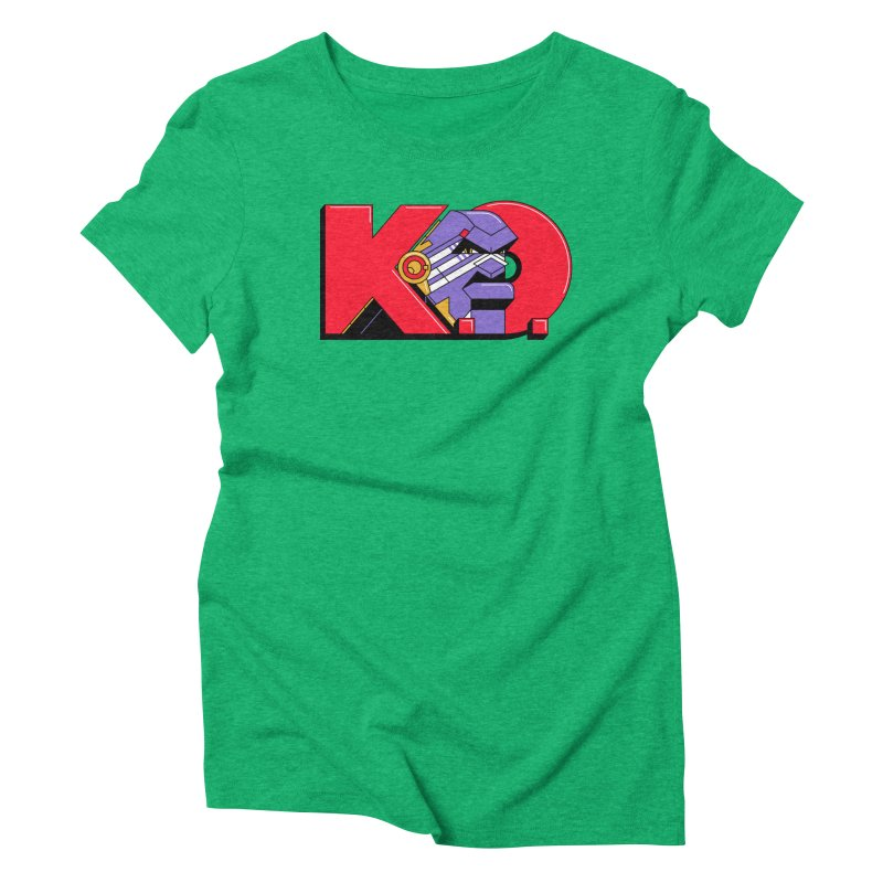 K.O. Women's Triblend T-shirt by Spencer Fruhling's Artist Shop