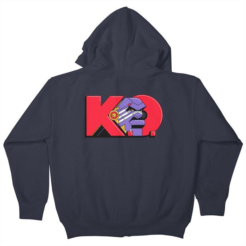 K.O. Kids Zip-Up Hoody by Spencer Fruhling's Artist Shop