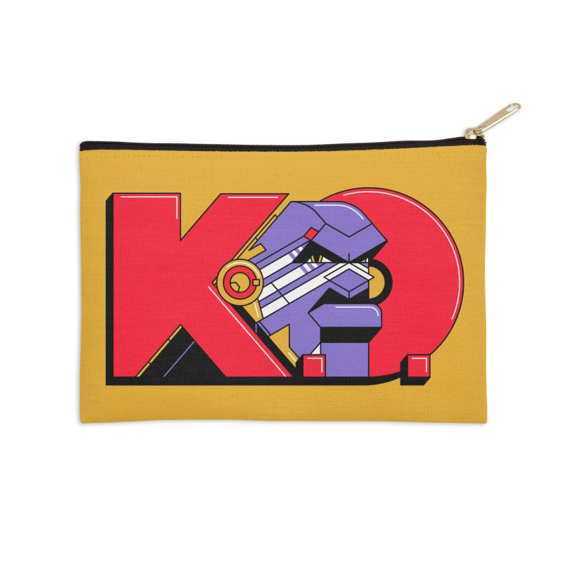 K.O. Accessories Zip Pouch by Spencer Fruhling's Artist Shop