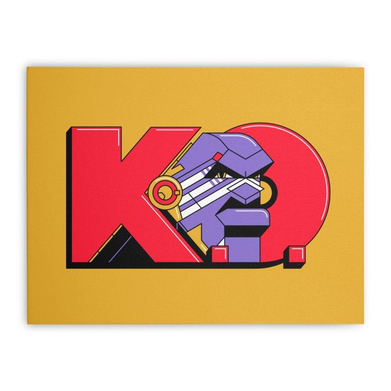 K.O. Home Stretched Canvas by Spencer Fruhling's Artist Shop