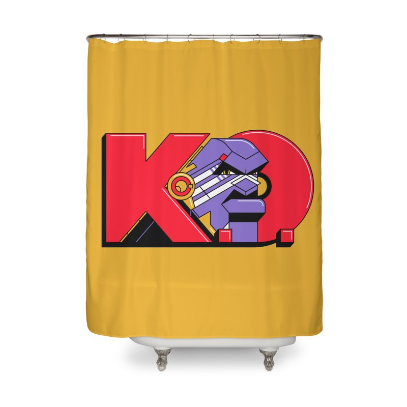 K.O. Home Shower Curtain by Spencer Fruhling's Artist Shop