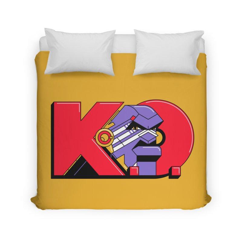 K.O. Home Duvet by Spencer Fruhling's Artist Shop