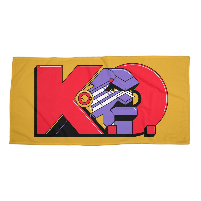 K.O. Accessories Beach Towel by Spencer Fruhling's Artist Shop