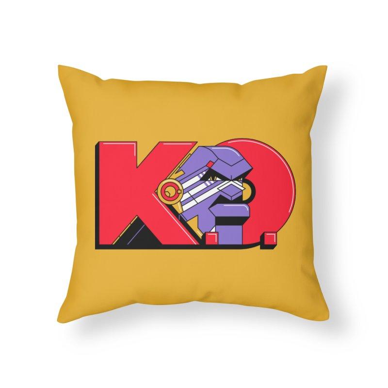 K.O. Home Throw Pillow by Spencer Fruhling's Artist Shop