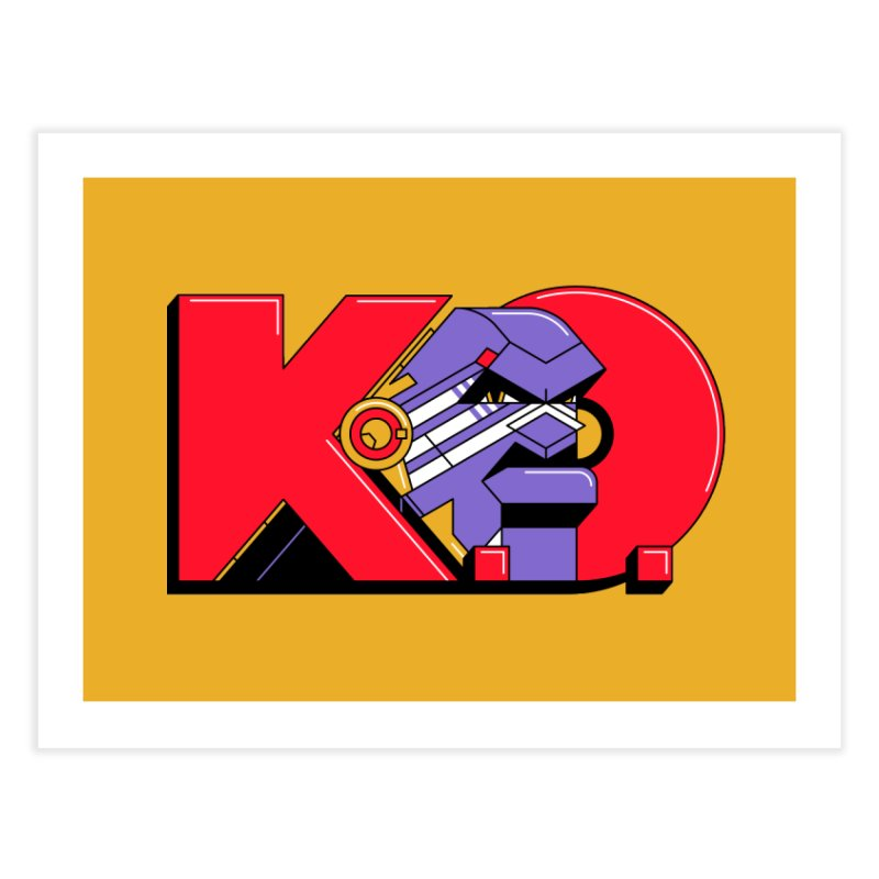 K.O. Home Fine Art Print by Spencer Fruhling's Artist Shop