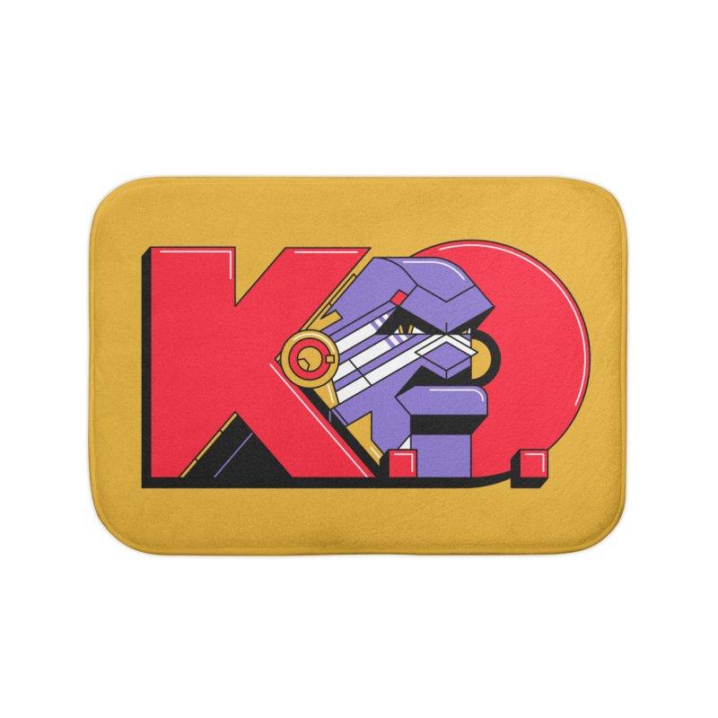 K.O. Home Bath Mat by Spencer Fruhling's Artist Shop