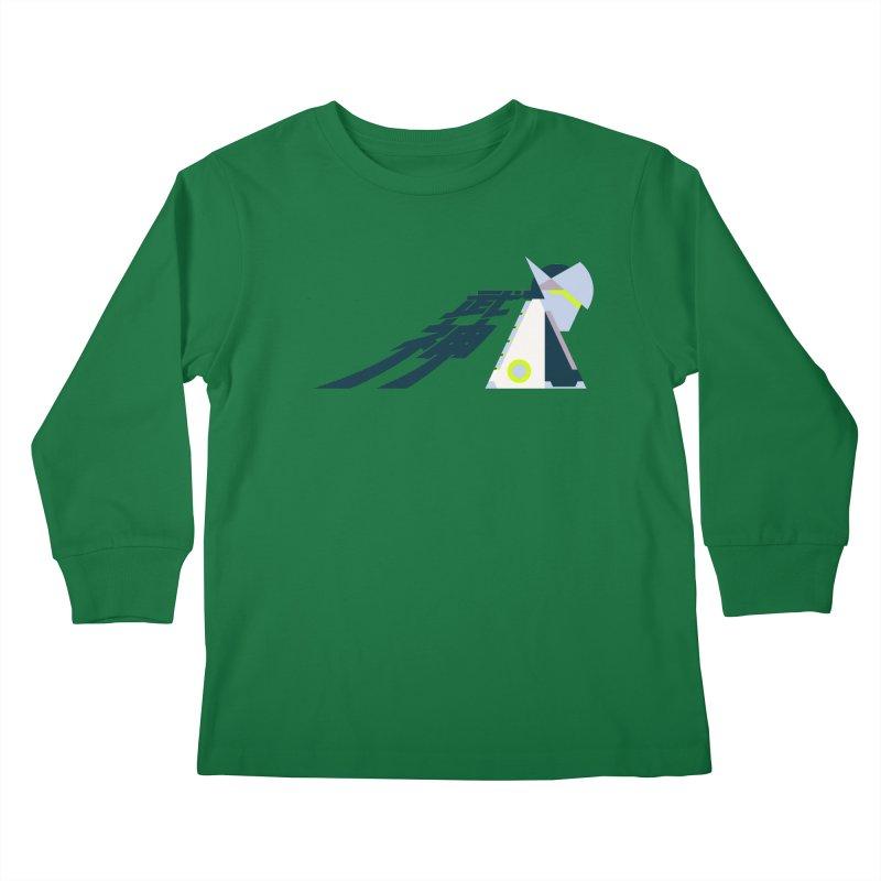 War God Kids Longsleeve T-Shirt by Spencer Fruhling's Artist Shop