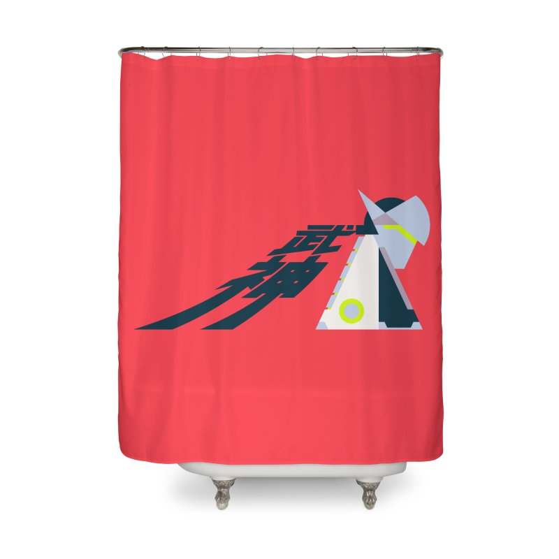 War God Home Shower Curtain by Spencer Fruhling's Artist Shop