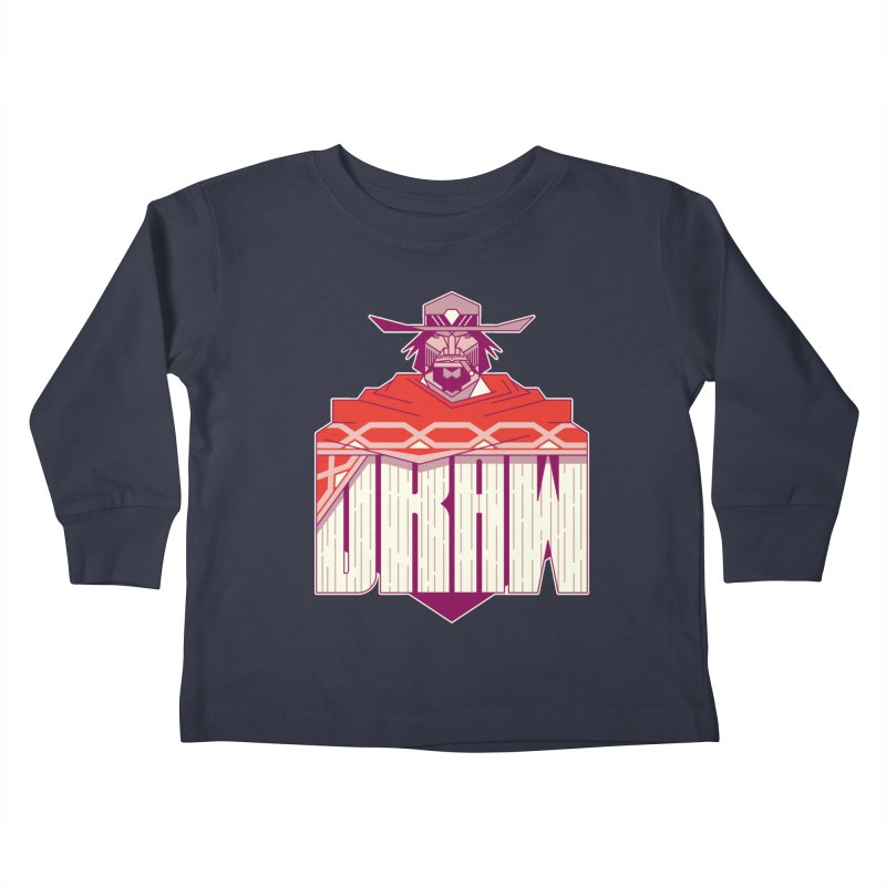Draw Kids Toddler Longsleeve T-Shirt by Spencer Fruhling's Artist Shop