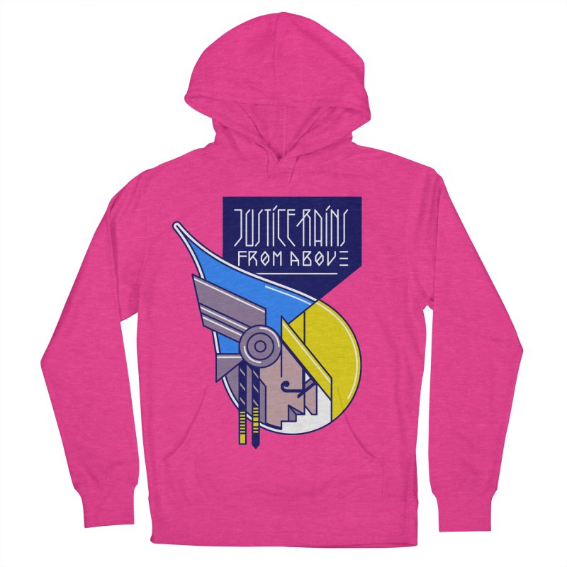 Justice Rains From Above Men's Pullover Hoody by Spencer Fruhling's Artist Shop