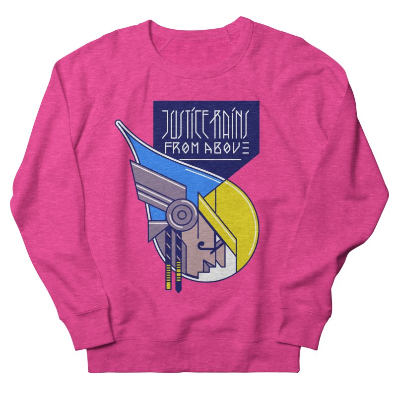 Justice Rains From Above Men's Sweatshirt by Spencer Fruhling's Artist Shop