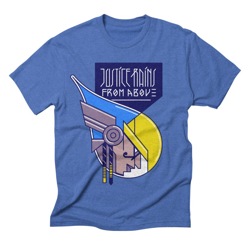 Justice Rains From Above Men's Triblend T-Shirt by Spencer Fruhling's Artist Shop