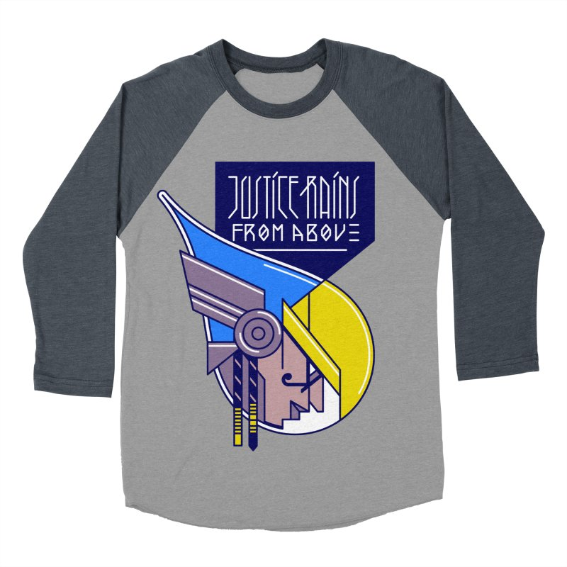 Justice Rains From Above Women's Baseball Triblend T-Shirt by Spencer Fruhling's Artist Shop