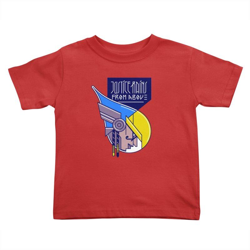 Justice Rains From Above Kids Toddler T-Shirt by Spencer Fruhling's Artist Shop