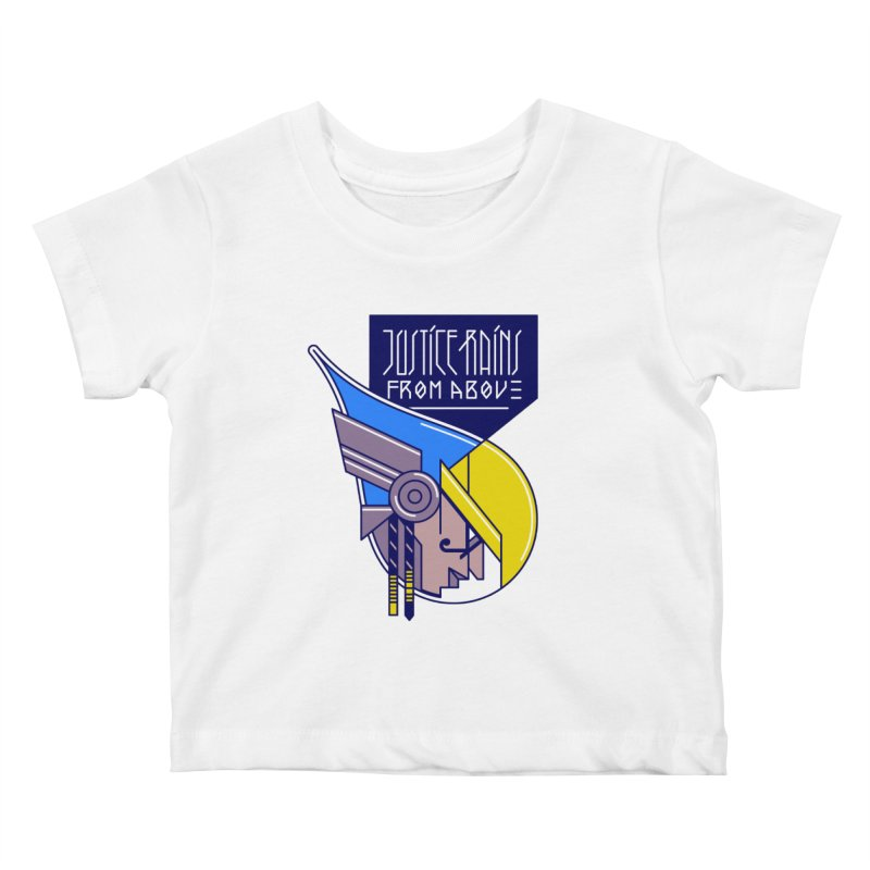Justice Rains From Above Kids Baby T-Shirt by Spencer Fruhling's Artist Shop